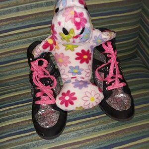 Justin sequin Sparkle tennis shoes